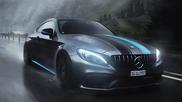 Full HD Mercedes Benz Gle Coupe Wallpaper