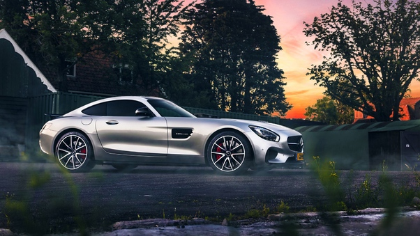 Full HD Mercedes Sls Cgi Wallpaper
