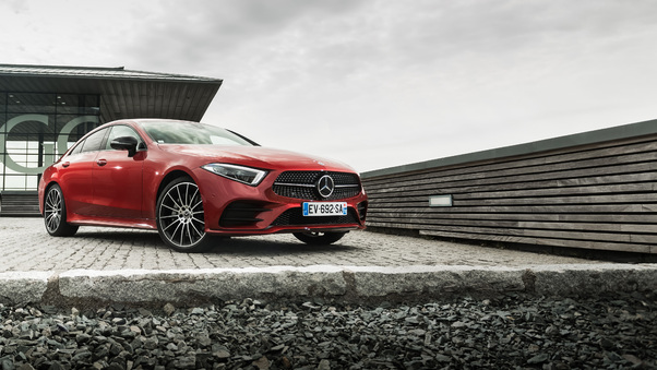Full HD Mercedes Benz Cls 400 D 4matic Amg Wallpaper