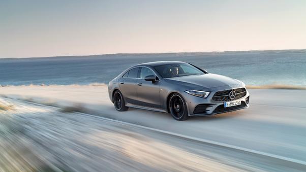 Full HD Mercedes Benz Cls 450 Amg Line Edition 1 2018 Wallpaper