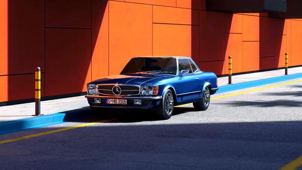 Full HD Mercedes Benz Sl R107 Wallpaper