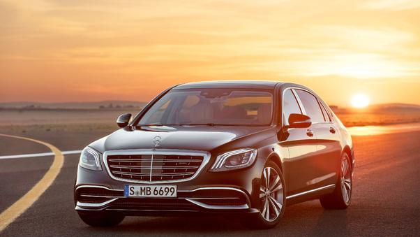 Full HD Mercedes Amg S63 2018 4k Wallpaper