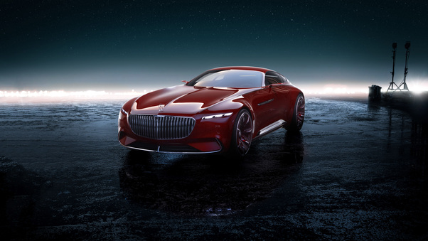 Full HD Mercedes Maybach Vision 6 4k Wallpaper