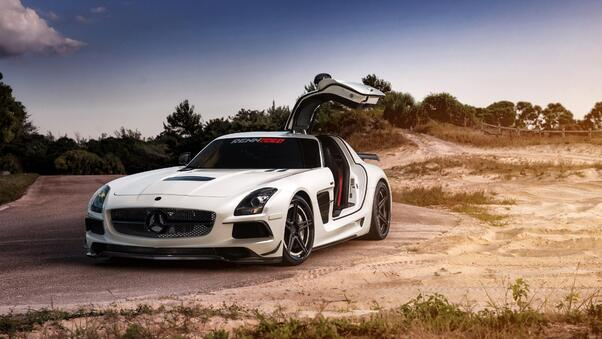 Full HD Mercedes Sls Amg 4k Wallpaper