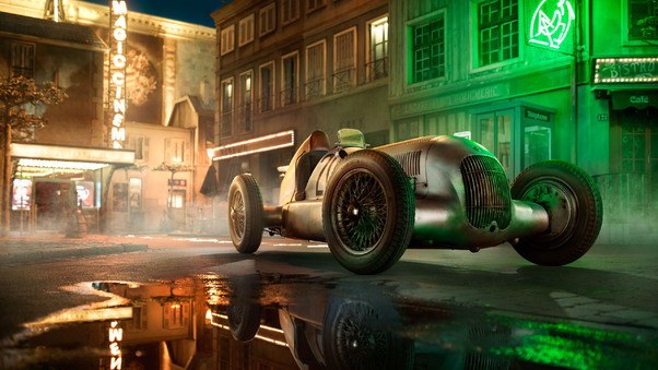 Full HD Mercedes Benz W25 Wallpaper