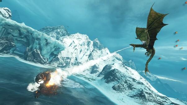 Shadow Of War Hd Wallpaper: Middle Earth Shadow Of War Dragon HD, HD Games, 4k