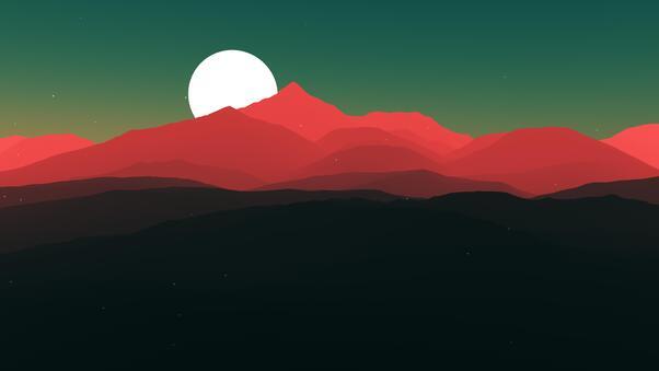 Minimalist Landscape 4k Hd Artist 4k Wallpapers Images