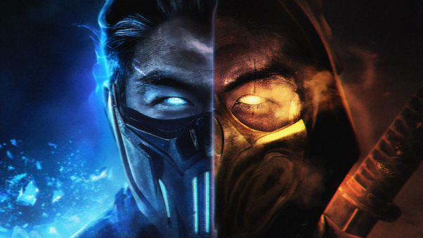 mortal kombat scorpion wallpaper 1920x1080