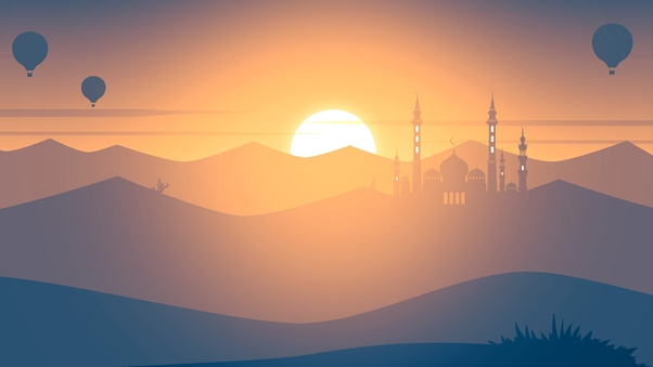 Mosque Minimalism 4k Hd Artist 4k Wallpapers Images