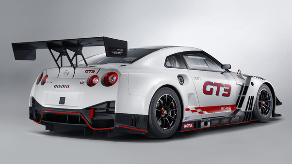 Full HD Nismo Nissan Gt R Gt3 2018 Rear View Wallpaper