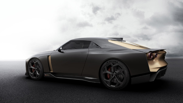Full HD Nissan Gt R50 Concept 2018 Side View Wallpaper