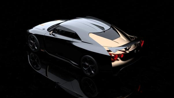 Full HD Nissan Gt R50 Concept 2018 Ultra Limited Wallpaper