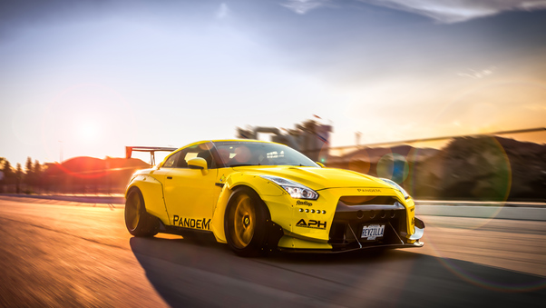 Full HD Nissan Gtr 5k Wallpaper