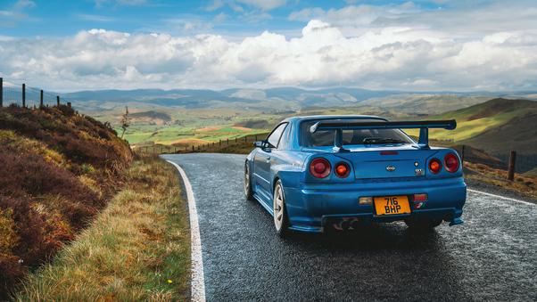 Full HD Nissan Skyline 2000 Gt 4k Wallpaper