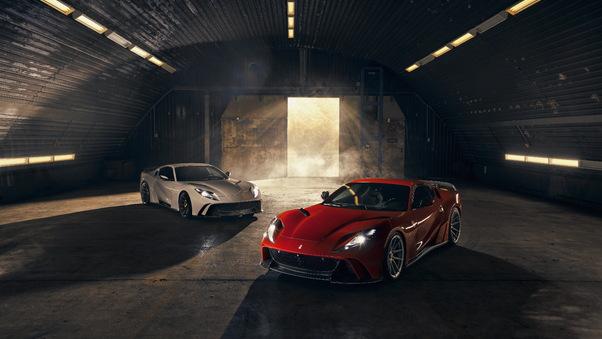 Full HD 2019 Ferrari 812 Superfast Novitec Rear Wallpaper