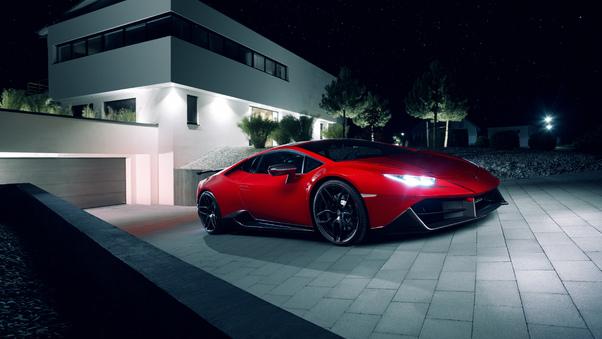Full HD Novitec Torado Lamborghini Huracan 2018 Front Wallpaper