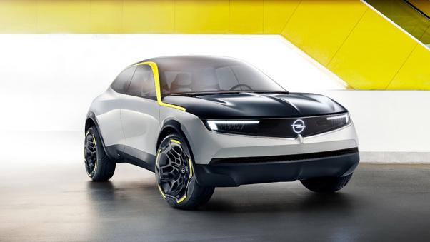 Full HD Opel Gt X Experimental 2018 Wallpaper