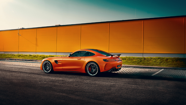 Full HD Mercedes Amg Gt 63 S 4matic 4 Door Coupe Edition 1 Rear Wallpaper