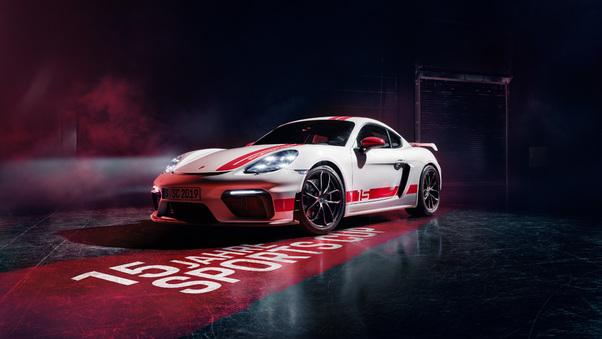 Full HD Porsche 718t Wallpaper