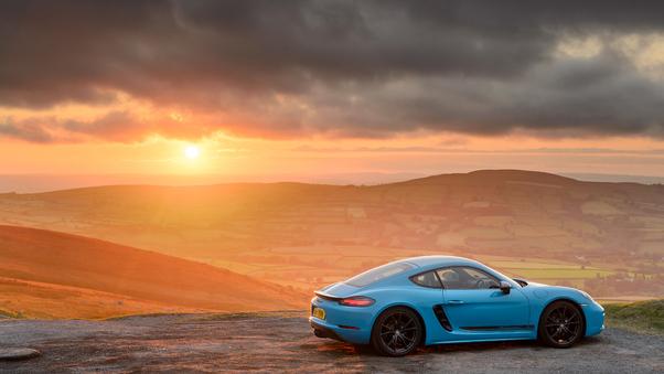 Full HD Porsche 718 Cayman Gts 2019 Wallpaper