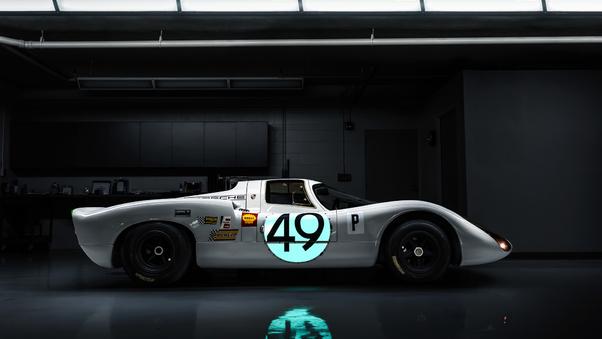 Full HD Porsche 907 Wallpaper