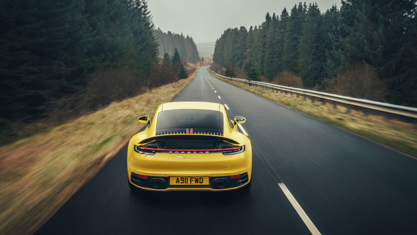 Full HD Porsche 911 Carrera 4s Cabriolet 2019 Wallpaper