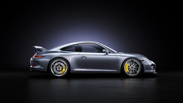 Full HD Porsche 911gt3rs Gold 4k Wallpaper