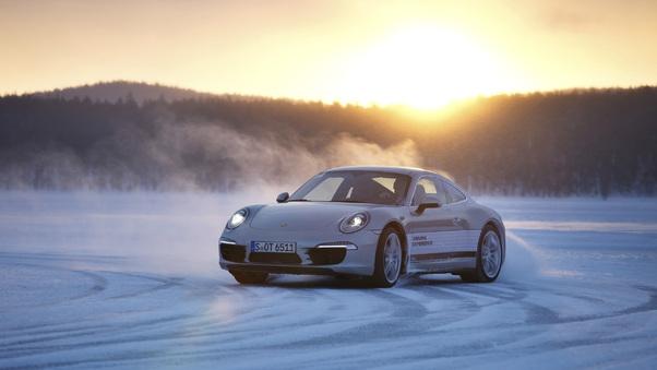 Full HD Porsche 911 Turbo Wec Safety Car 2018 Wallpaper