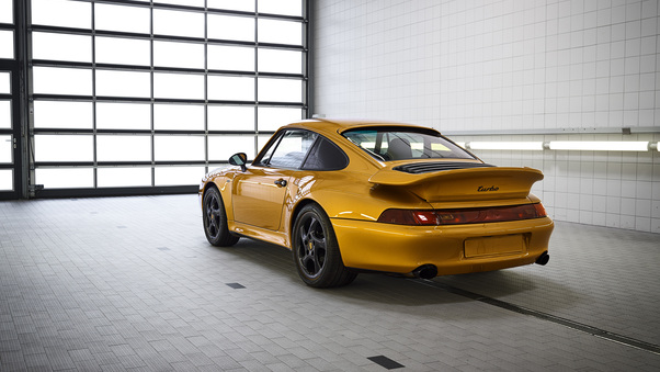 Full HD Porsche 911 Turbo Classic Series 2018 Rear Wallpaper