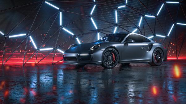 Full HD Porsche Gt2 Rs Track Car Wallpaper