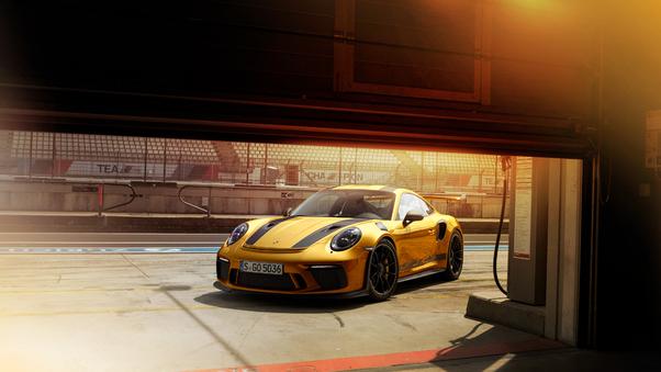 Full HD 2018 Porsche 911 Gt3 Rs Front Wallpaper