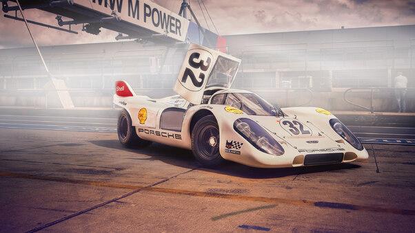 Full HD Porsche 917k Wallpaper