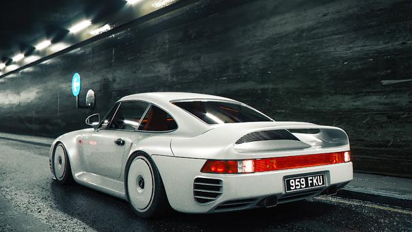 Full HD Porsche 959 Grb Prototype 4k Wallpaper