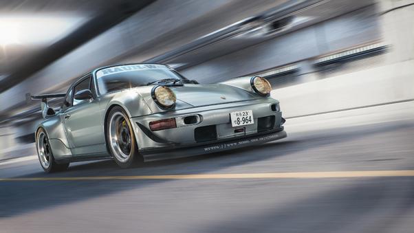 Full HD Porsche 964 Rwb Cgi Wallpaper
