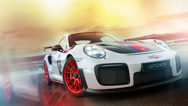 Full HD Porsche Gt2rs Wallpaper