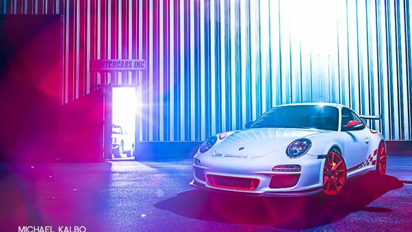 Full HD Grey Porsche 4k Wallpaper