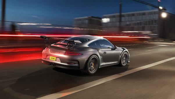 Full HD Porsche Spyder 918 Art Wallpaper