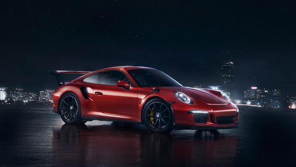 Full HD Porsche 911 Rsr Wallpaper
