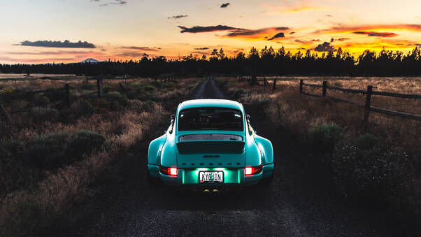 Full HD Porsche Rwb 4k Wallpaper