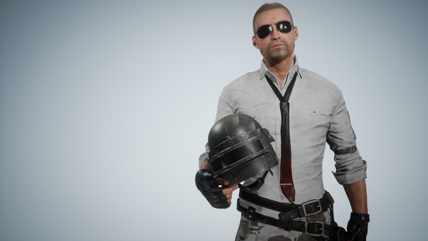Pubg Helmet Guy With Girls And Guns 4k Hd Games 4k: Pubg Helmet Guy Without Helmet, HD Games, 4k Wallpapers