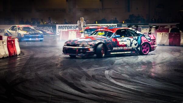 Full HD Race Cars Wallpaper