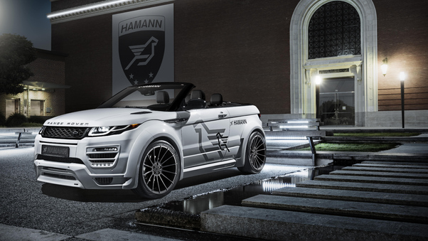Full HD Range Rover Evoque Hse Si4 Dynamic Black Design Pack 2018 Rear Wallpaper