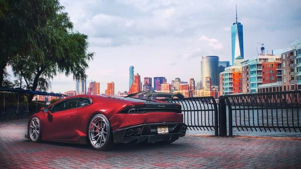 Full HD Novitec Torado Lamborghini Huracan 2018 Rear Wallpaper