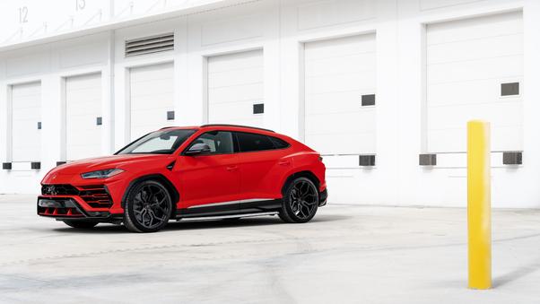 Full HD Topcar Lamborghini Urus 2018 Side View Wallpaper