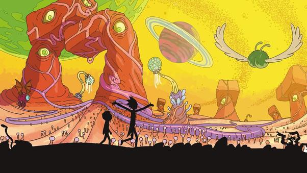 Rick And Morty, HD Cartoons, 4k