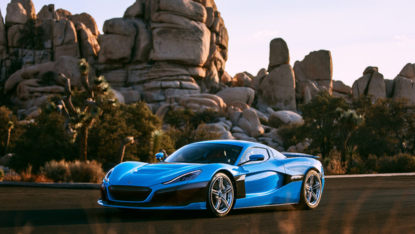 Full HD 4k 2018 Rimac C Two California Edition Wallpaper