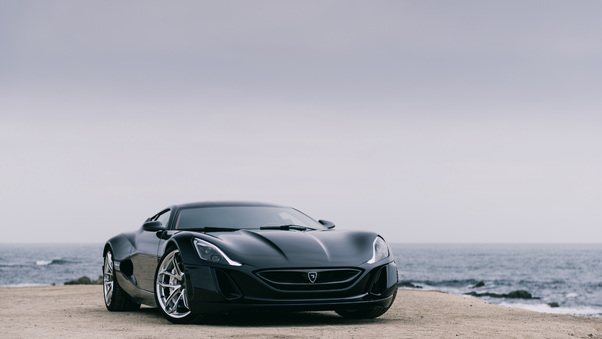 Full HD 2018 Rimac C Two California Edition Front Wallpaper