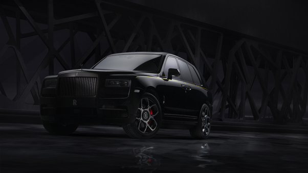 Full HD 2019 Rolls Royce Cullinan Front Wallpaper