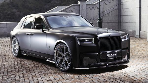 Full HD Rolls Royce Wraith Luminary Collection 2018 4k Wallpaper