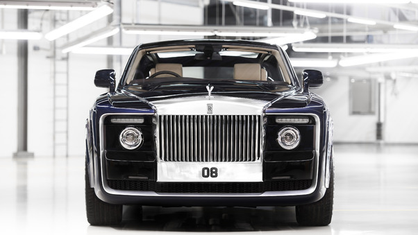 Full HD Rolls Royce Sweptail Car Wallpaper